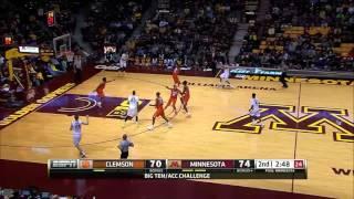 Jordan Murphy Baseline Dunk vs. Clemson