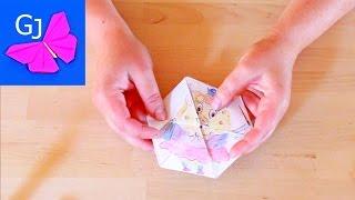 Как сделать флексагон ❤️ Гексафлексагон своими руками