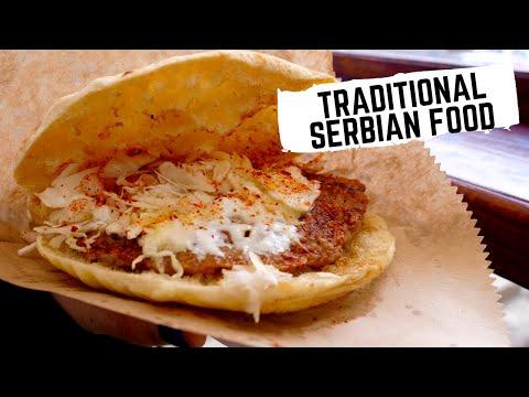 Serbian Burger King of BELGRADE, Serbia | BEST traditional SERBIAN FOOD at OLD SCHOOL restaurants