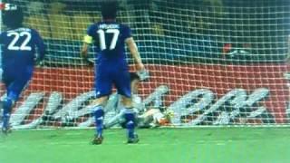 Tomasson scores 1-2 Denmark Japan 2010