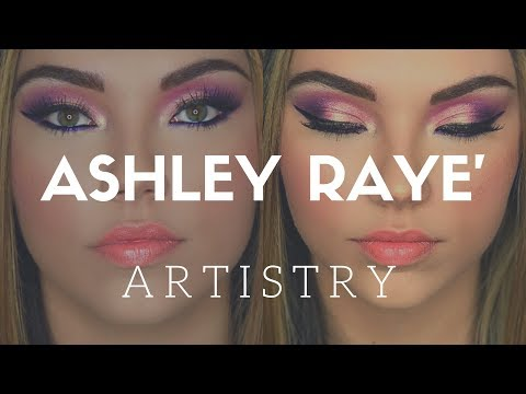 Unicorn Glam Makeup : Ashley Raye Artistry Tutorial Vlog