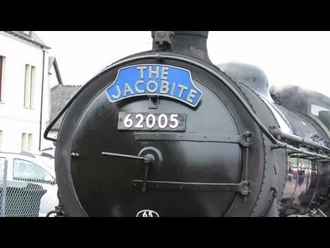 A Trip On The Jacobite (Vintage Steam Train In Scotland)