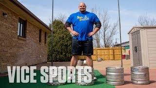 Tossing Kegs on Seven Meals a Day: The Story of the World's Strongest Man