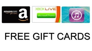 How To Get Free Gift Card Codes [no scam] Ultimate Hack! - Free Amazon, iTunes, Google Play, Etc!