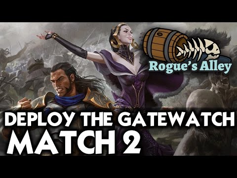 MTG Standard: Deploy the Gatewatch vs Temur Tower - Rogue's Alley