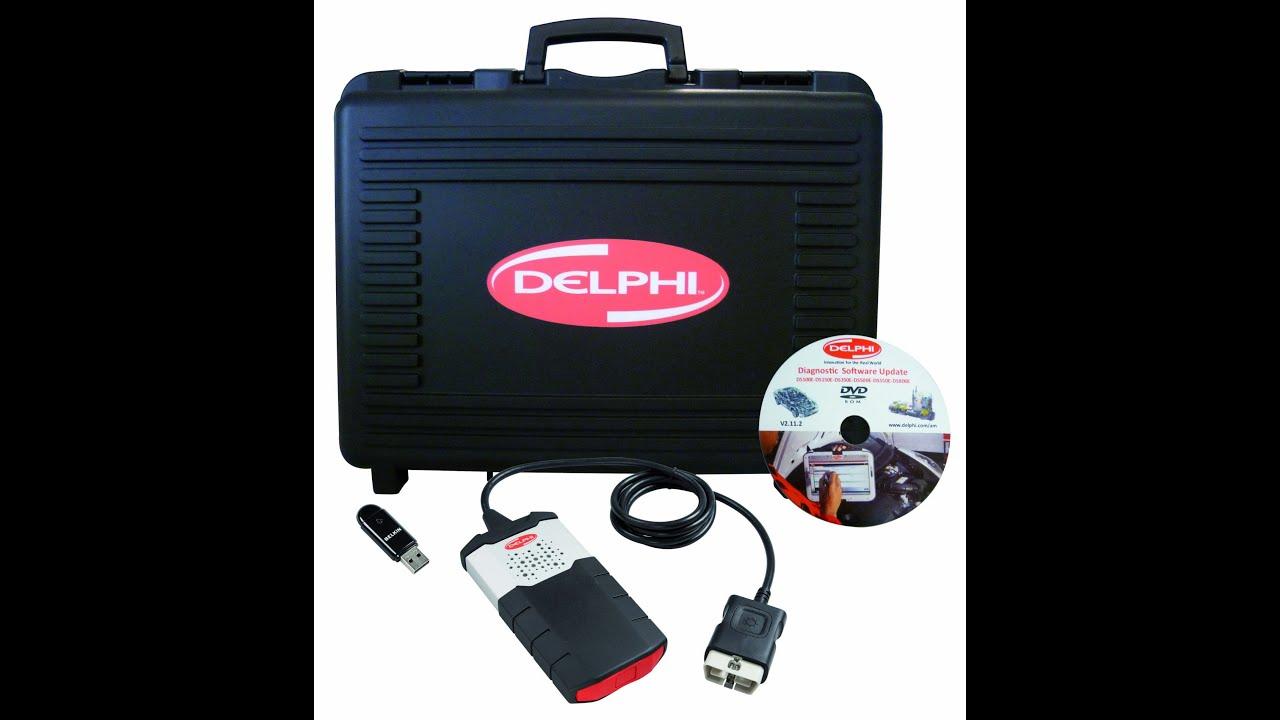 delphi ds 150 youtube