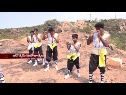 Kung-fu Outdoor Training India -28 Shaolin Wushu Warrior Special Training in Shifu Prabhakar Reddy