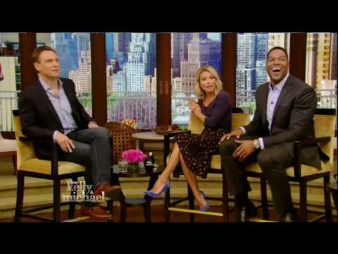Tony Goldwyn interview Live! With Kelly and Michael 05/06/16