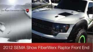 2012 SEMA FiberWerx Ford Ranger Raptor Method Race Wheels General Tires