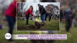Karácsony Gergely: a budapesti klímavédelem kihirdetése nem csak retorikai fogás