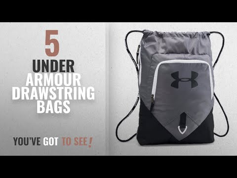 top-10-under-armour-drawstring-bags-[2018]:-under-armour-undeniable-sackpack,-graphite/black,-one