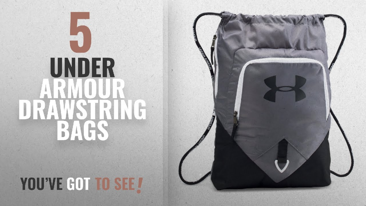 b3ffbe9c8301 Top 10 Under Armour Drawstring Bags  2018   Under Armour Undeniable ...