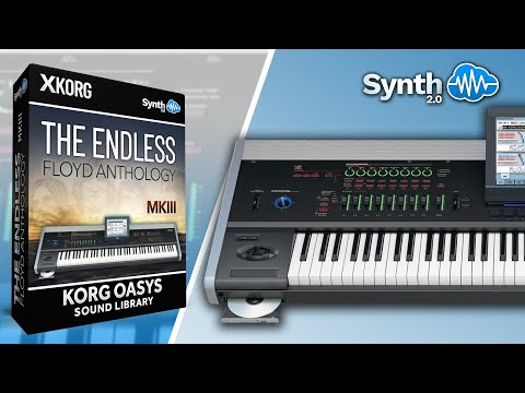 The Endless Floyd Anthology Pink Floyd Cover pack for Korg Kronos Oasys M3 M50 Krome ( Synthcloud )