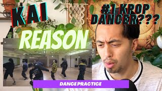 KAI 카이 'Reason' Dance Practice    Professional Dancer Reacts