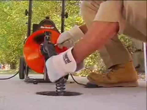 Elektrisch Toilet Verstopt : Elektrische ontstopper minirooter xp youtube