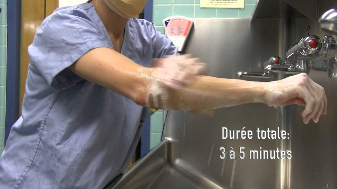 lavage de mains unit d 39 enseignement chirurgical universit de mcgill hgj youtube. Black Bedroom Furniture Sets. Home Design Ideas