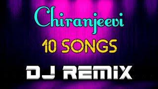 Chiranjeevi Top 10 Songs Dj Remix | 2020 Telugu Dj Songs | Roadshow Dj Songs