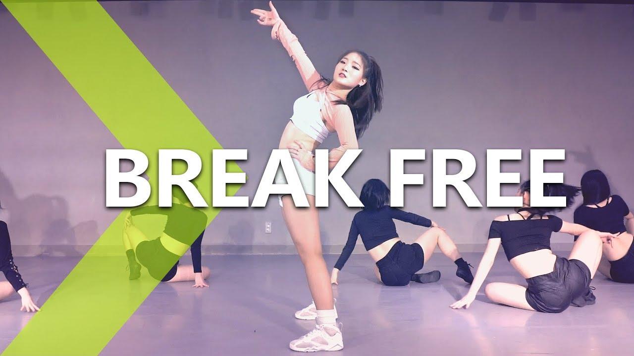 Performance Ver Ariana Grande Break Free Ft Zedd Wendy Choreography