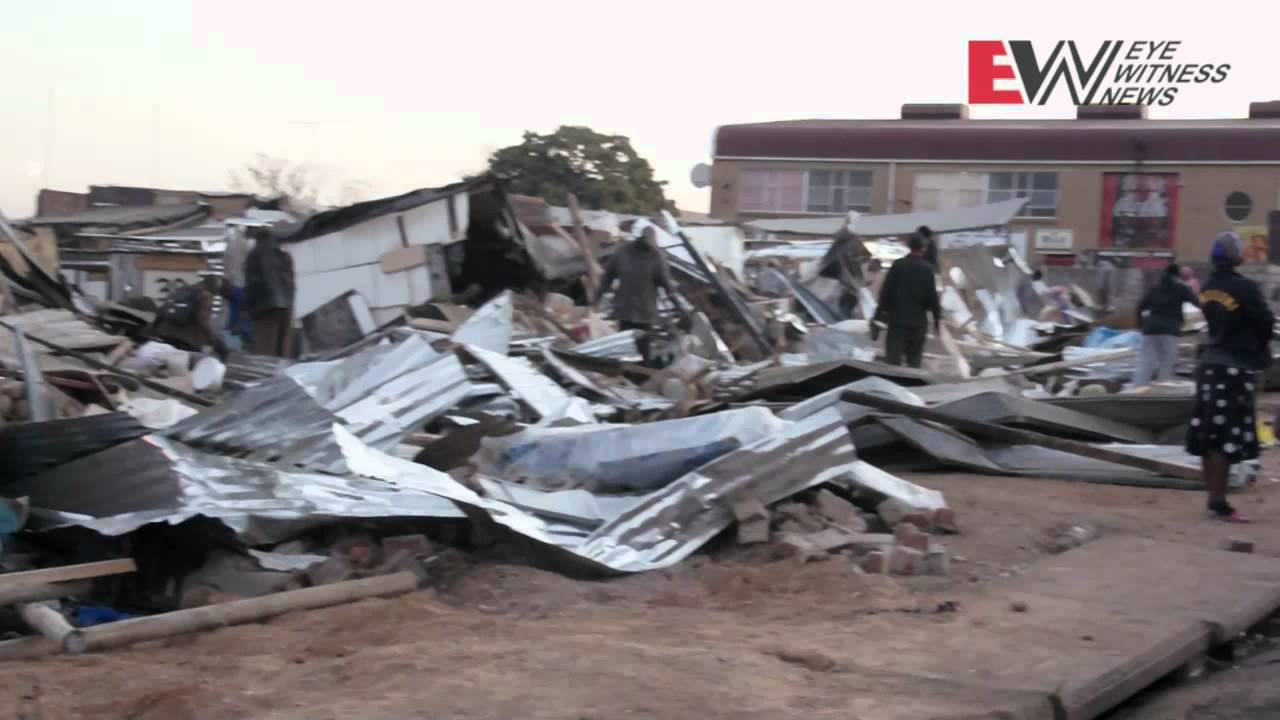 Marlboro shack dwellers evicted