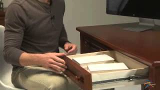 Casey Writing Desk - Walnut - Product Review Video