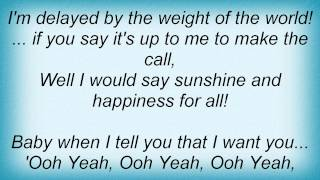 Devin Townsend - Sunshine And Happiness Lyrics