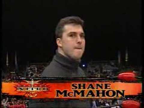 WWE RAW 15th Anniversary -- Shane on Nitro