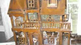 Rare Antique German Birdcage Dollhouse Found In Morristown