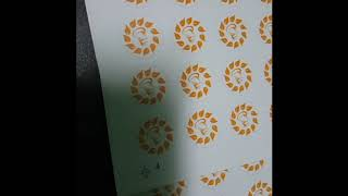 Die Cutting of ordinary sticker using CUYI Cutter Plotter