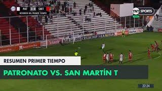 Resumen Primer Tiempo: Patronato vs San Martín T | Fecha 12 - Superliga Argentina 2018/2019