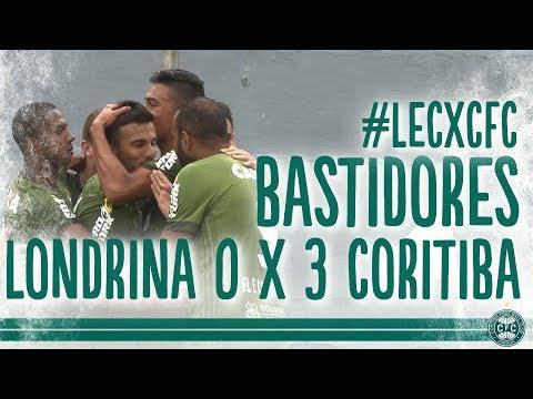 Bastidores - Londrina 0 x 3 Coritiba