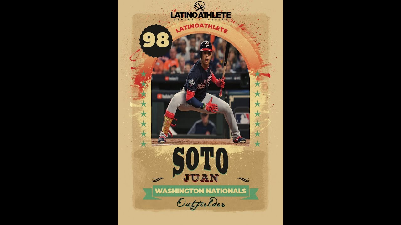 Top 10 Latino Outfielder