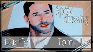 Скачать Draw Tom Ellis OST LUCIFER Nastasia Vas