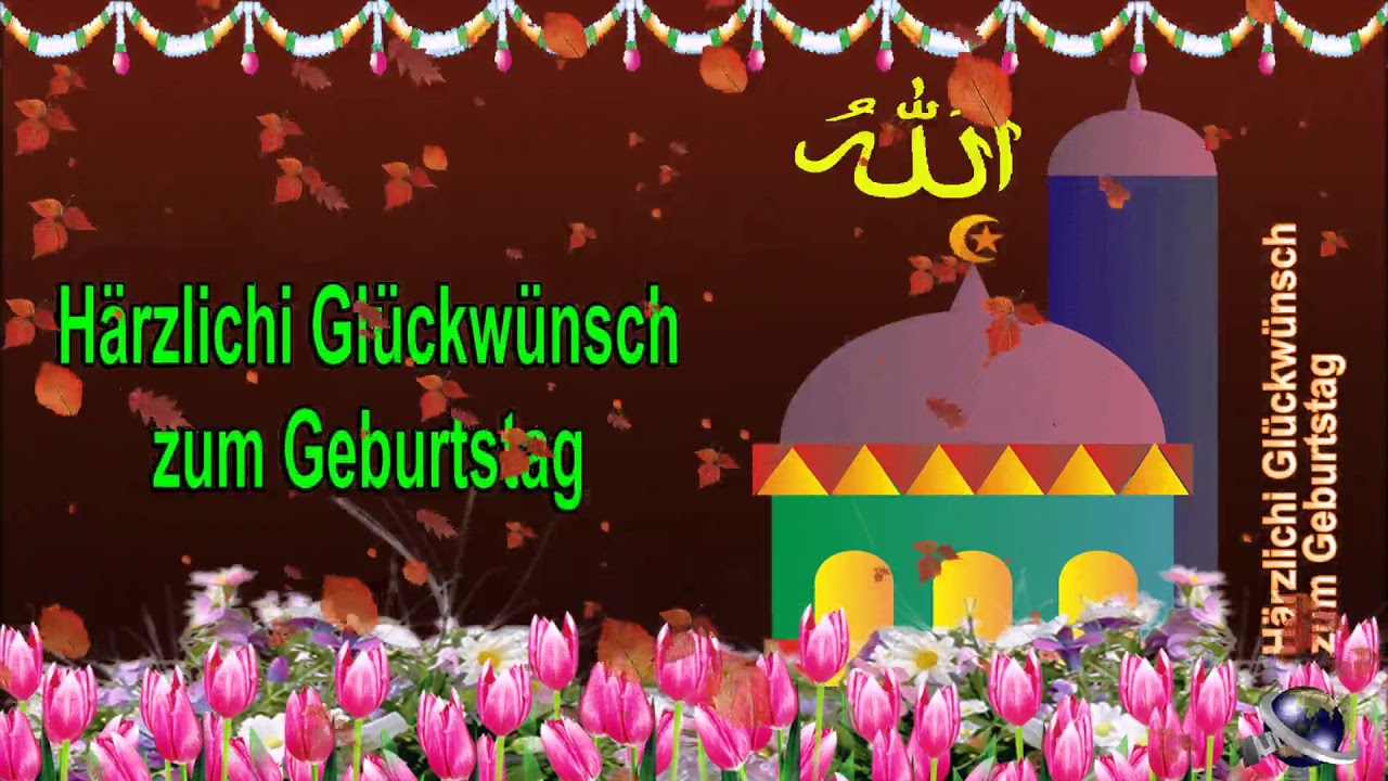 0 316 Swiss German 25 seconds Happy Birthday Greeting Wishes includes Islam  Masjid by Bandla