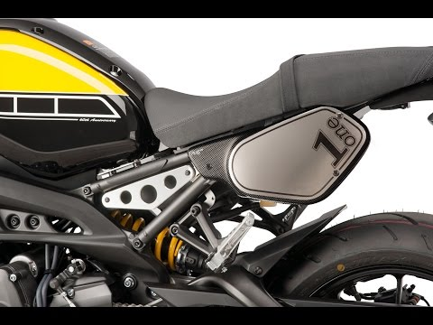 Retro Side panels PUIG stickers kit - Yamaha XSR700 (Ref.8562) and XSR900 (Ref.856