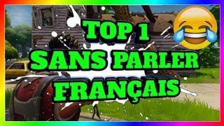 TOP 1 SANS PARLER FRANÇAIS
