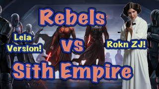 Dawg Bites Leia Rebels vs Malak