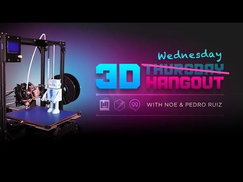 3D Hangouts – Ultimaker 3 & Sigma BCN3D Dual