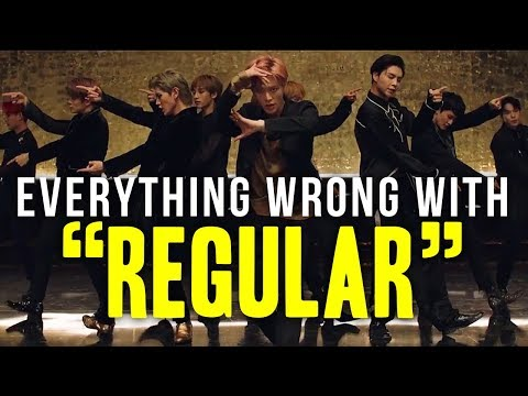 "Everything Wrong With NCT 127 엔시티 - ""Regular (English Version)"""