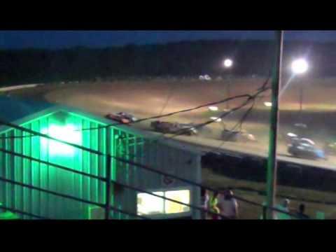 Jacob's Roll at ThunderHill Speedway, Mayetta, KS 2014