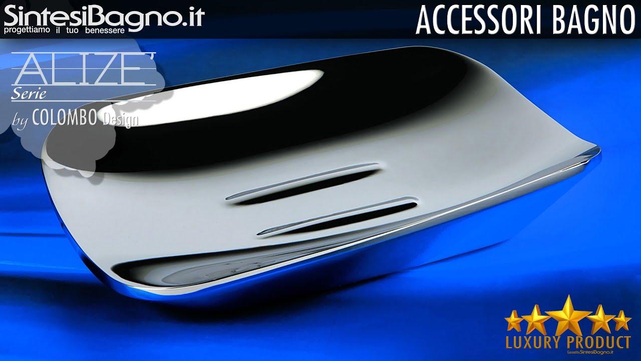 Accessori bagno serie alize 39 by colombo design youtube - Colombo accessori bagno ...