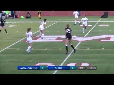 MHS Girls Soccer vs. Aloha Warriors