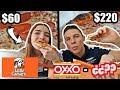 PIZZA DE $60 VS $220 PESOS ¿CUÁL ES MEJOR?
