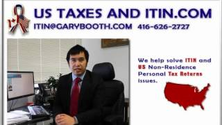 US Individual Taxpayer Identification Numbers | Chris | 416-626-2727 (ITIN)