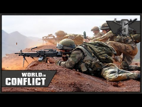 French Foreign Legion Paradrop! - World in Conflict - Mission 10 (USA+NATO)