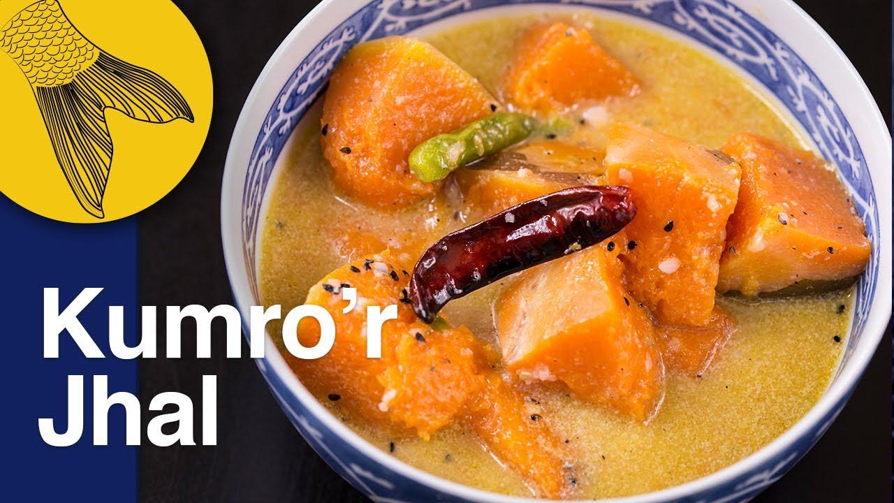 Kumrar jhal bengali kumro recipe easy light pumpkin or kumrar jhal bengali kumro recipe easy light pumpkin or butternut squash curry forumfinder Images