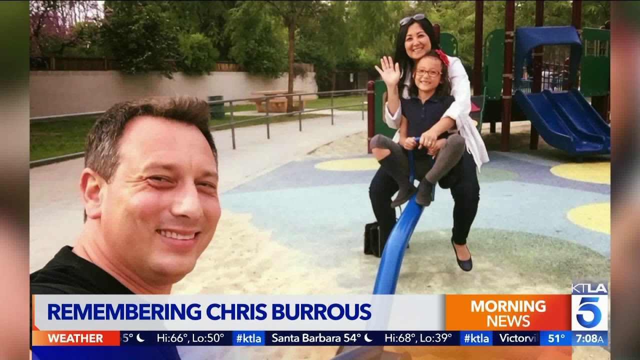 Chris Burrous' life and legacy discussed today on the KTLA Morning News