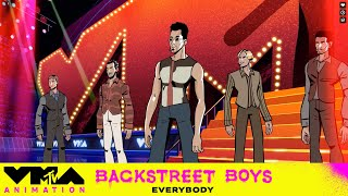 'Backstreet's Back' For This Animated VMA Performance   VMAnimation