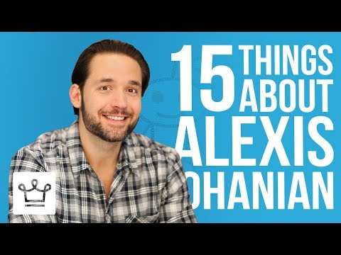 15 Things You Didn't Know About Alexis Ohanian