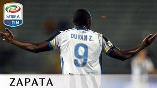 Il gol di Zapata - Empoli - Udinese - 1-1 - Giornata 23 - Serie A TIM 2015/16