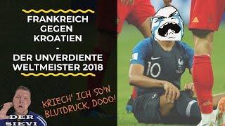 Frankreich gegen Kroatien   Der unverdiente Weltmeister